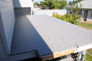 AV Deck Shop installed Duradek vinyl on this outdoor living space.