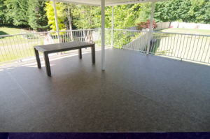 Duradeck installed by AV Deck Shop on Beaver Creek Road