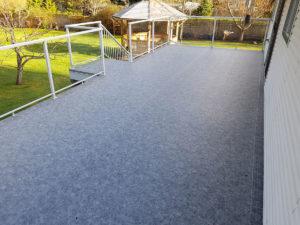 New Duradek vinyl waterproof deck