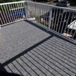 Small deck Duradek vinyl